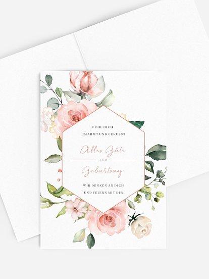 """Grußkarte """"Soft Florals"""""""