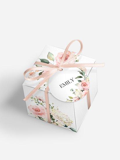 """Gastgeschenkbox personalisiert """"Soft Florals"""""""