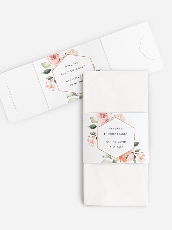 Freudentränen-Taschentücher Soft Florals