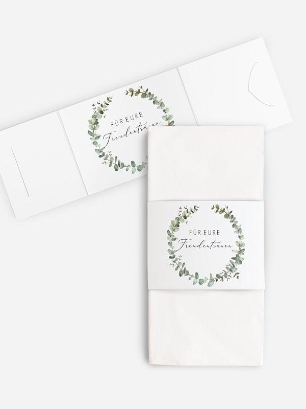 Freudentränen-Taschentücher Green Minimal