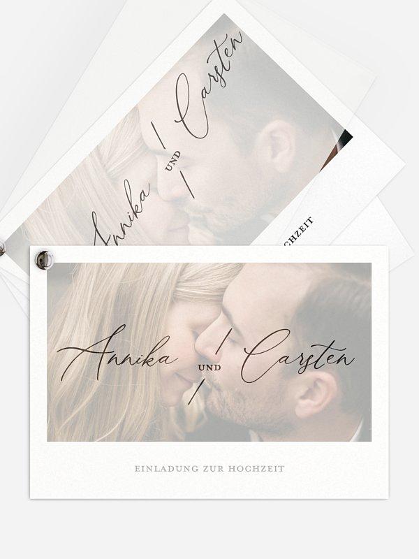 Hochzeitseinladung Love Letter