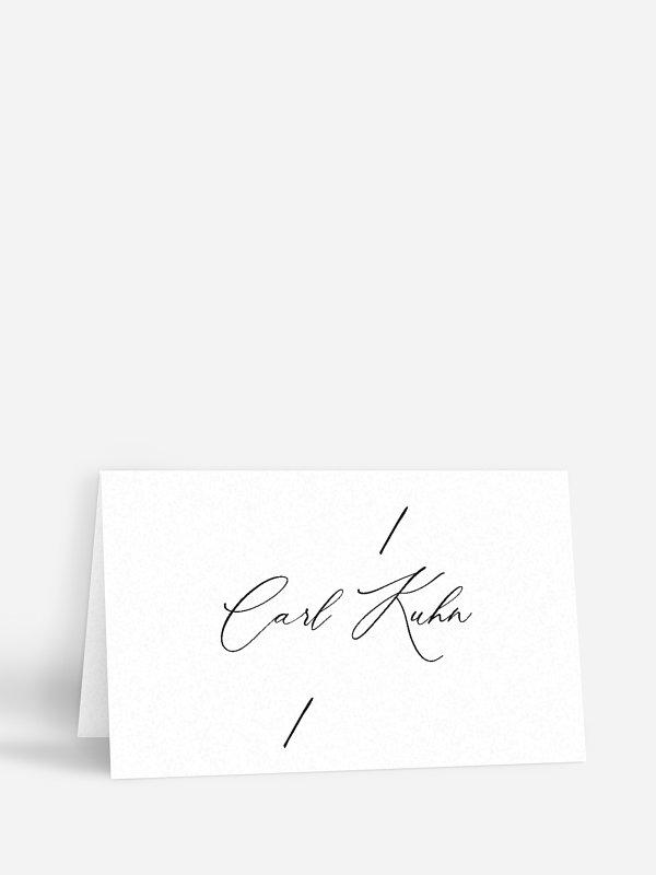 Tischkarte Hochzeit Love Letter