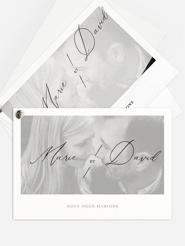 Faire-part de mariage Love Letter