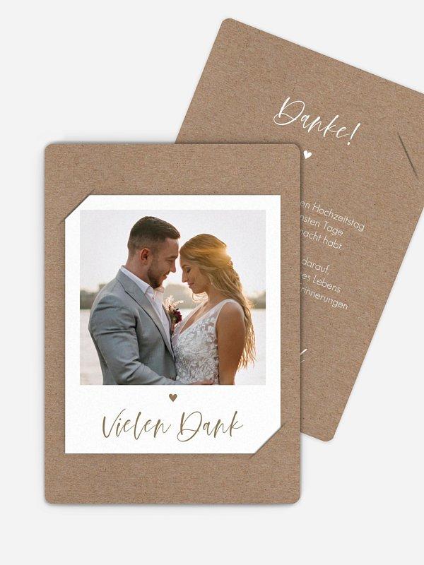Dankeskarte Hochzeit Lovely Couple