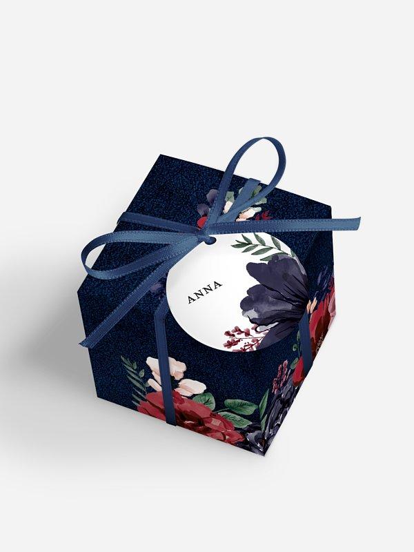 Gastgeschenkbox personalisiert Bouquet Frame