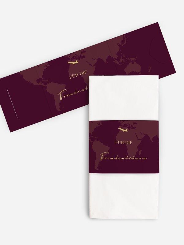 Freudentränen-Taschentücher Reisepass