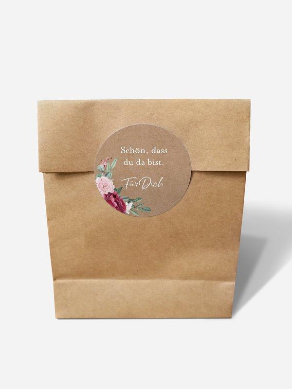 Papiertüte Rose Bouquet