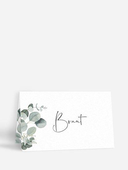 """Tischkarte Hochzeit """"Eucalyptus Love"""""""