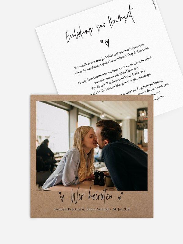 Hochzeitseinladung Lasting Love
