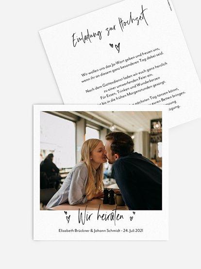 """Hochzeitseinladung """"Lasting Love"""""""