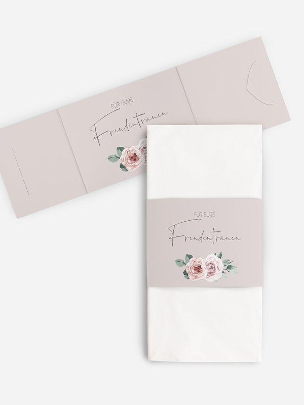 Freudentränen-Taschentücher Rose Diaries