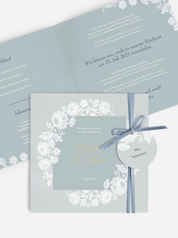 Hochzeitseinladung Romantic Novel