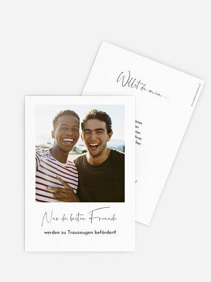Trauzeugenkarten True Friendship